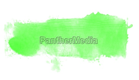isolated light green watercolor texture