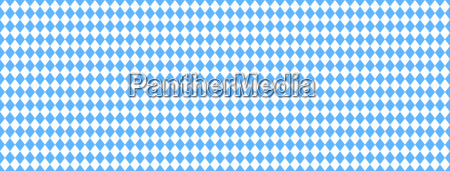 seamless blue and white diamonds banner