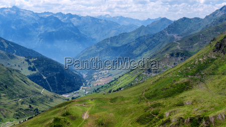 view of col du tourmalet in