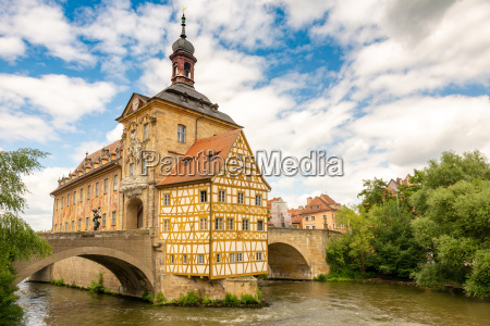 historic town hall of bamberg