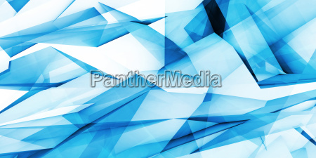 blue marketing abstract