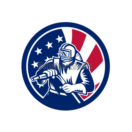 american sandblaster usa flag icon