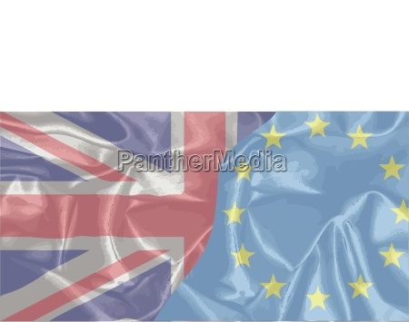 silk uk and eu flags