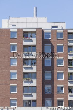 brick residential building