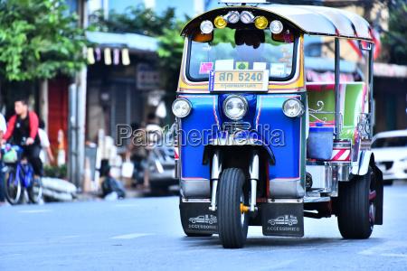 tuk tuk an auto rickshaw in