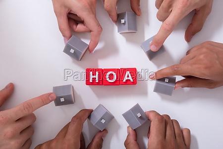 homeowner association blocks