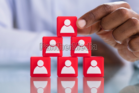 human resources and management concept