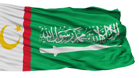 moro islamic liberation front flag isolated