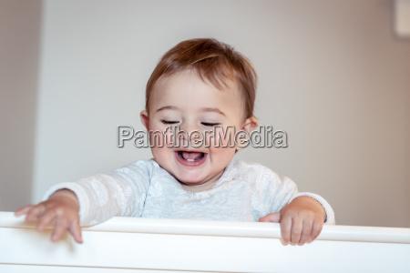 cheerful child portrait