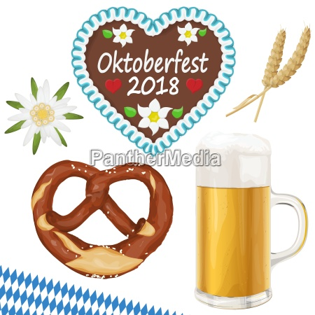 collection oktoberfest objects
