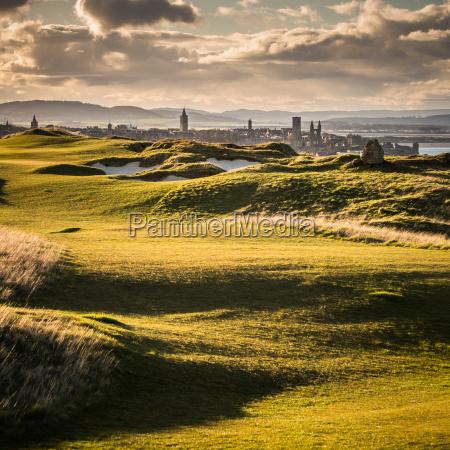 view of saint andrews fife scotland