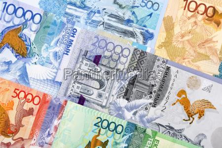 money from kazakhstan a background