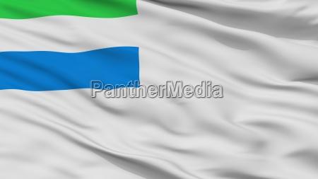sierra leone naval ensign flag closeup