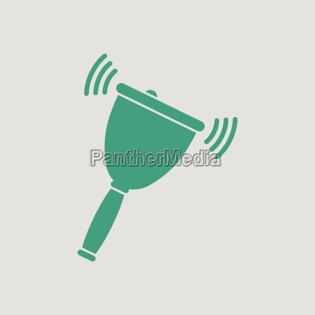 school hand bell icon