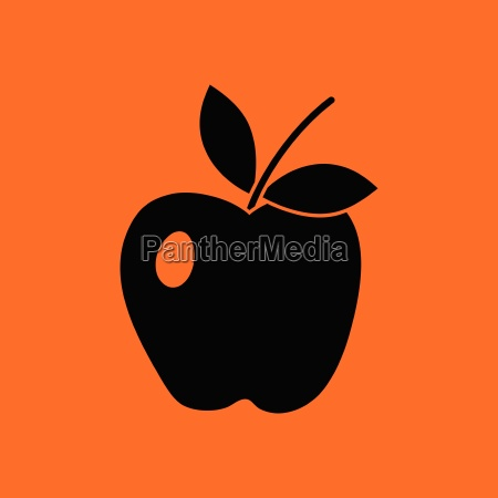 icon of apple
