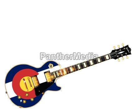 colorado flag guitar