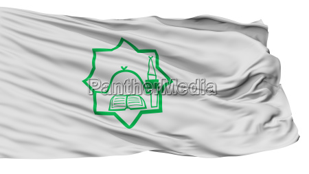 bulgarian general mufti flag isolated on