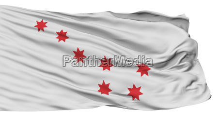 cherokee peace indian flag isolated on