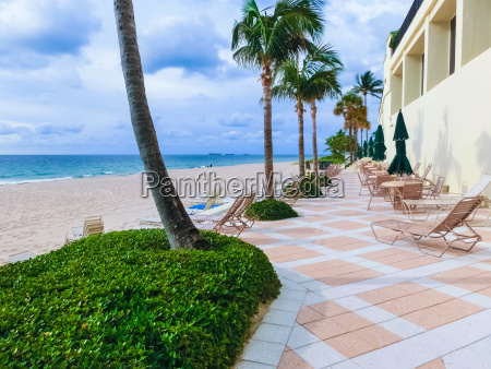 paradise beach at fort lauderdale in