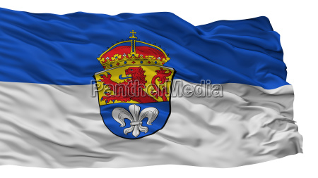 darmstadt city flag germany isolated on