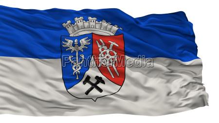 oberhausen city flag germany isolated on