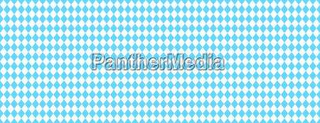 bavarian banner blue and white