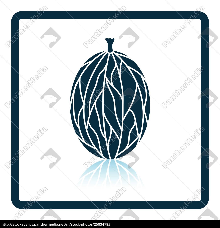 icon, of, gooseberry - 25834785
