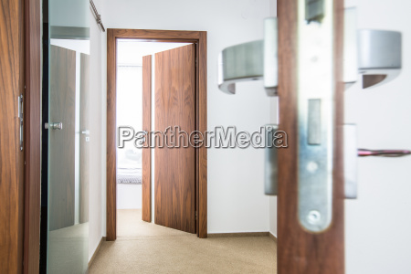 modern interior design architecture stock image