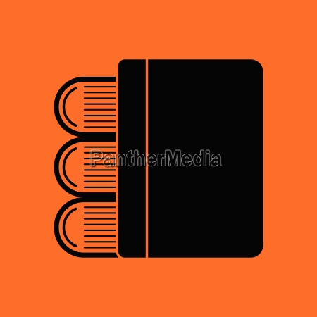 stack, of, books, icon - 25837409