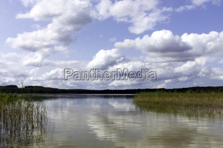 choczewskie lake choczewo kaszuby poland