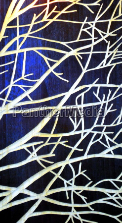 tree branches abstract outdoors