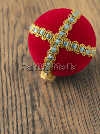 old vintage christmas bauble