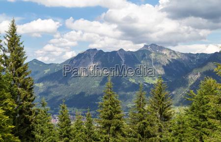 view of the nebeihorn mountain bavaria