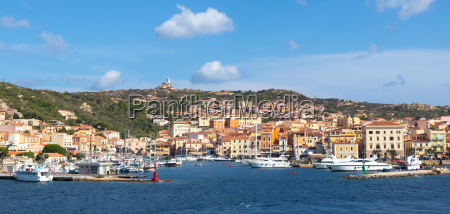 seaside view of la maddalena ton