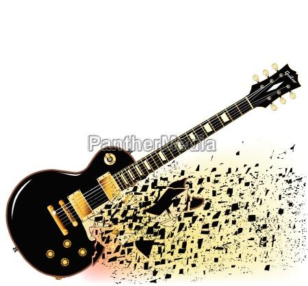 shattering blues guitar