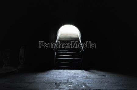 basement, interior, in, dark, settings - 25863314