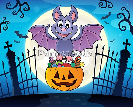halloween bat theme image 3