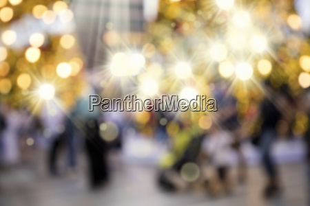 abstract blurry background image of christmas