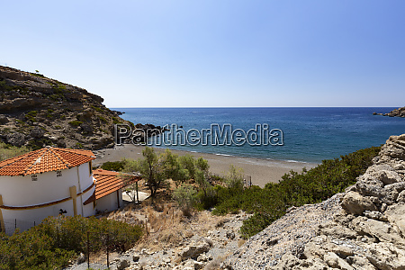 beach near agios ioannis in southern