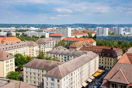 apartment blocks in dresden