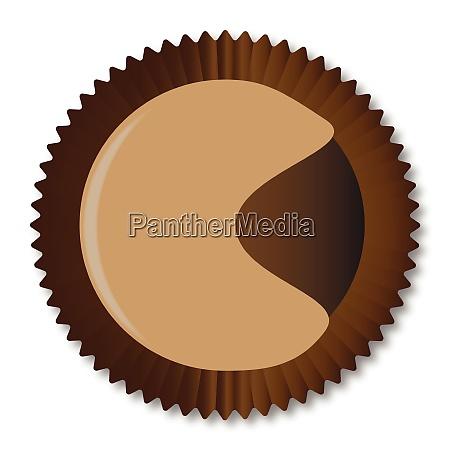 chocolate box moon shape