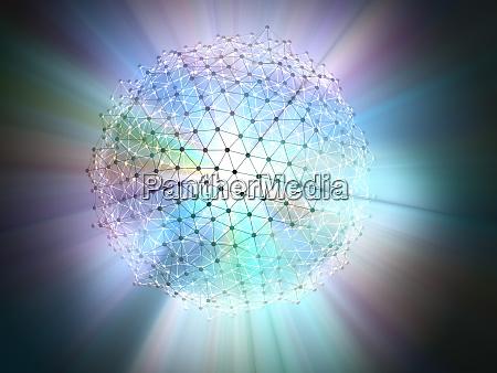 molecular science technology concept