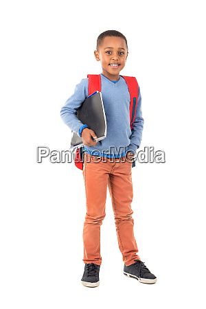 young boy student