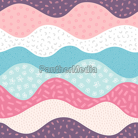 vector seamless pattern with abstract textured