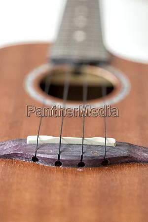 ukulele saddle and bridge