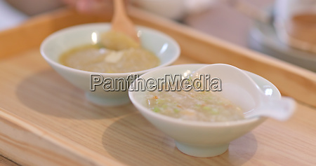 two soup of taiwanese dishes
