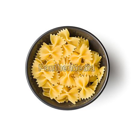 farfalle pasta tasty italian pasta in