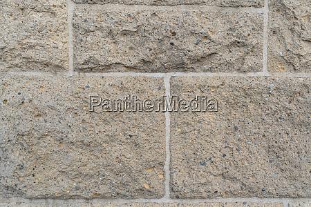 close up on rough rectangular stone