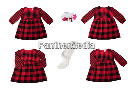 clothes for children a set of