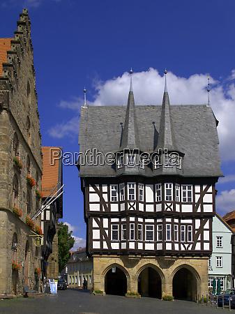 town hall in alsfeld hesse